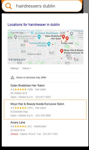hairdresser dublin